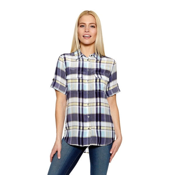 Equipment Short Sleeve Slim Signature Button Down