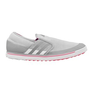 Adidas Women's Adicross SL Clear Onix/ White/ Flash Red Golf Shoes