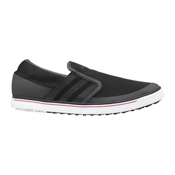 Adidas Women's Adicross SL Black/ Dark Shale/ Flash Pink Golf Shoes
