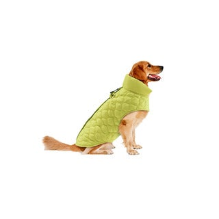 Track & Tail Benji Scallop Quilted Pet Bomber