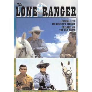 Lone Ranger Vol. 3 DVD TV Episode #5 Rustler's Hideout, #6 War Horse 16793919