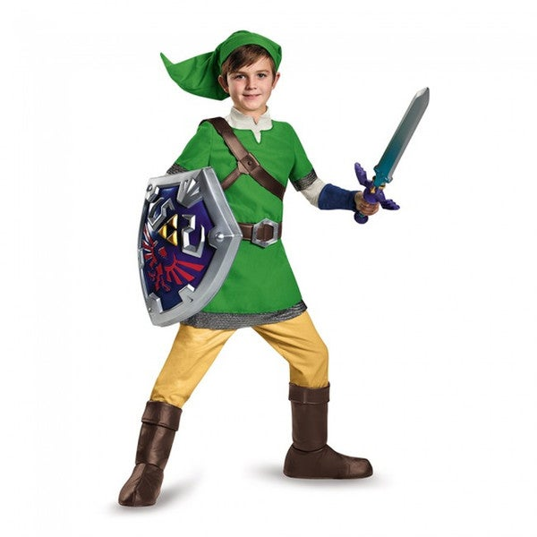 Link Legend of Zelda Deluxe Child Legend of Zelda Nintendo Video Game Costume