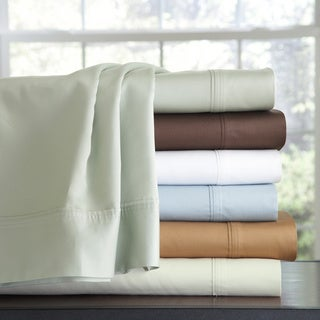 Pointehaven 500 Thread Count Cotton Pillowcases (Set of 2)