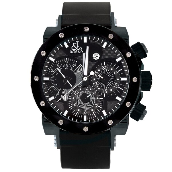 "Jacob and Company Epic II ""Limited Edition"" Unisex, E2C Black Bezel Watch"