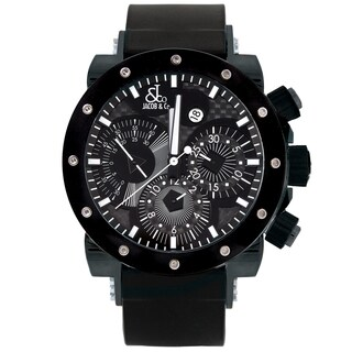 Jacob & Co. Epic II E2B Limited Edition Black Automatic Watch with Black Bezel