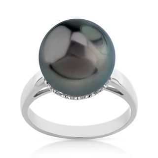 Radiance Pearl 14k Gold Tahitian South Sea Pearl Ring