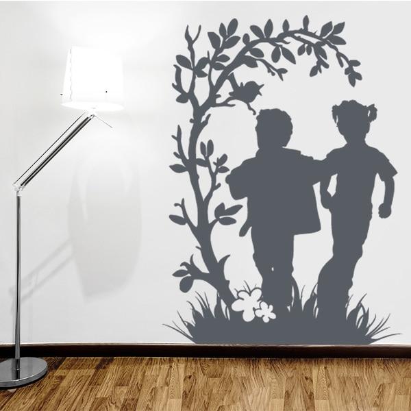 Running Kids Wall Decal