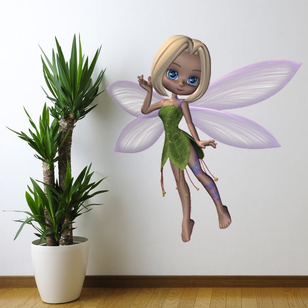 Forest Fairy Wall Decal