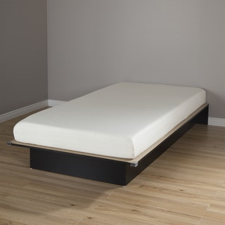 South Shore Libra Twin Platform Bed with 6-inch Somea Mattress