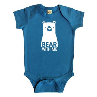 Rocket Bug 'Bear with Me' Baby Bodysuit