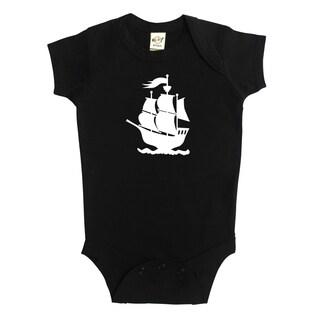 Rocket Bug Pirate Ship Baby Bodysuit