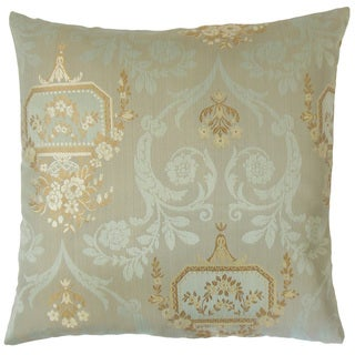 Nathifa Damask 18-inch Throw Pillow