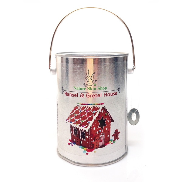 Hansel and Gretel House Soy Tin Can Candle