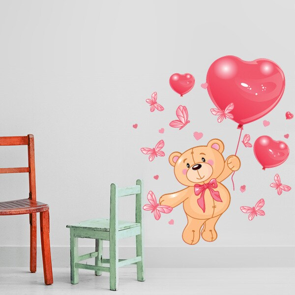 Lovely Teddy Bear Wall Decal 16797876