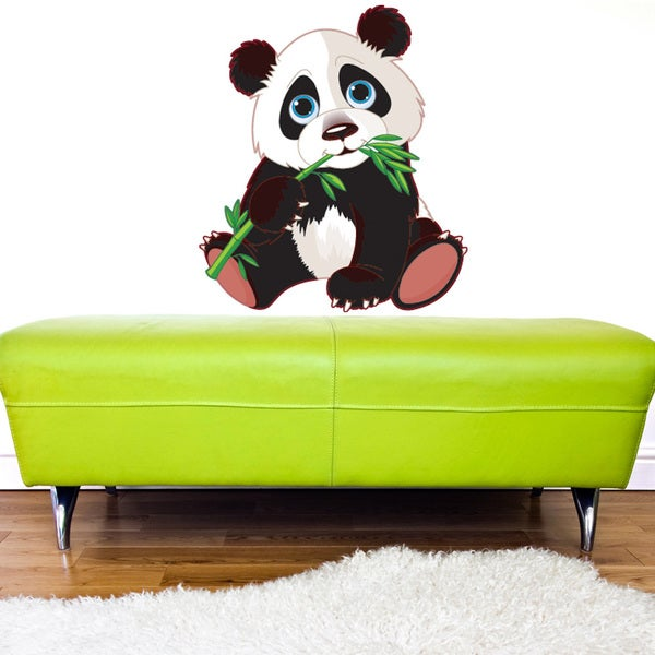 Baby Panda Wall Decal