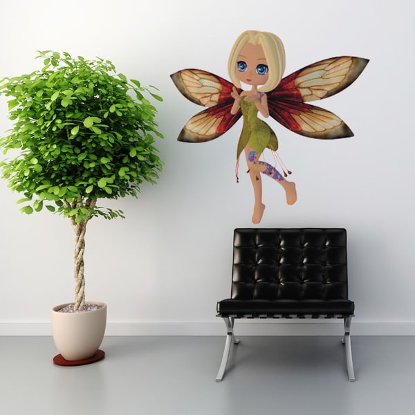 Meadow Fairy Wall Decal