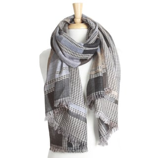 Reversible Checkered Scarf