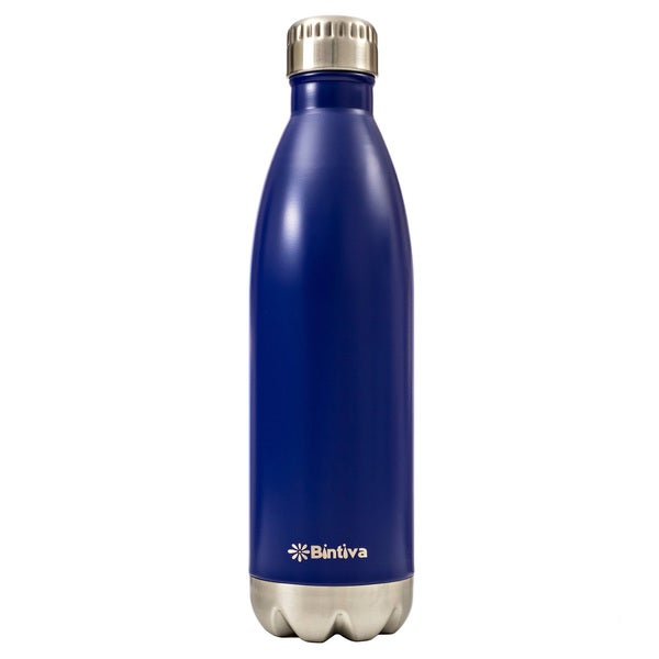Bintiva Double Walled Vacuum Insulated 17-ounce Stainless Steel Water Bottle