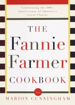 The Fannie Farmer Cookbook (Hardcover)
