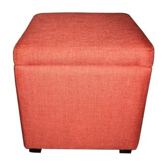 Christopher Knight Home Ripken Fabric Storage Cube Ottoman