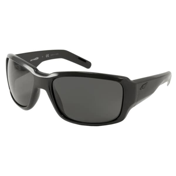 Arnette AN4201 Racketeer Men's Polarized/ Wrap Sunglasses
