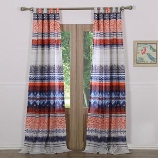 Greenland Home Fashions Urban Boho Curtain Panel Pair