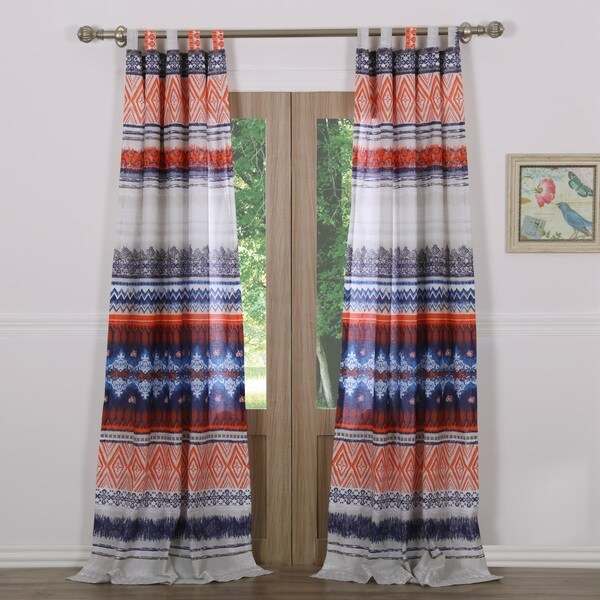 Urban Boho Curtain Panel Pair