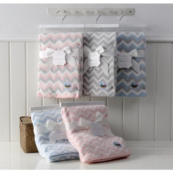 First Love Chenille Baby Blanket