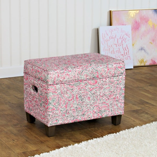 HomePop Medium Storage Ottoman 16802765