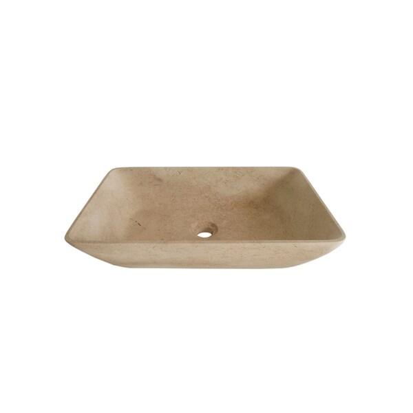 MIND IVI Natural Marble Sink Galala Stone Sink Bowl