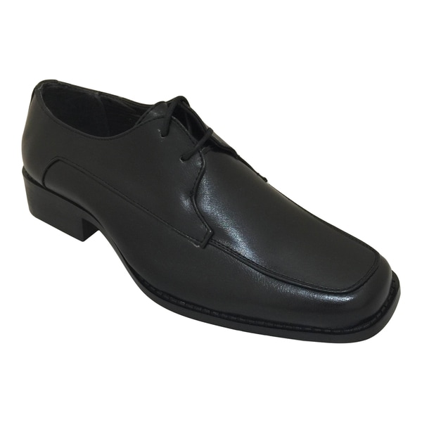 Men's Black Oxford Dress Shoe with Laces