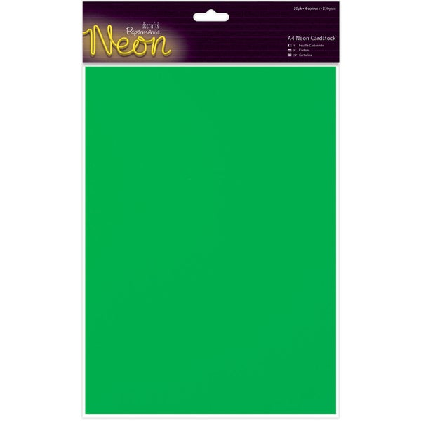 Papermania A4 Cardstock 20/Pkg-