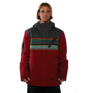 Billabong Mens Bordeaux Pier 15K Snowboard Jacket
