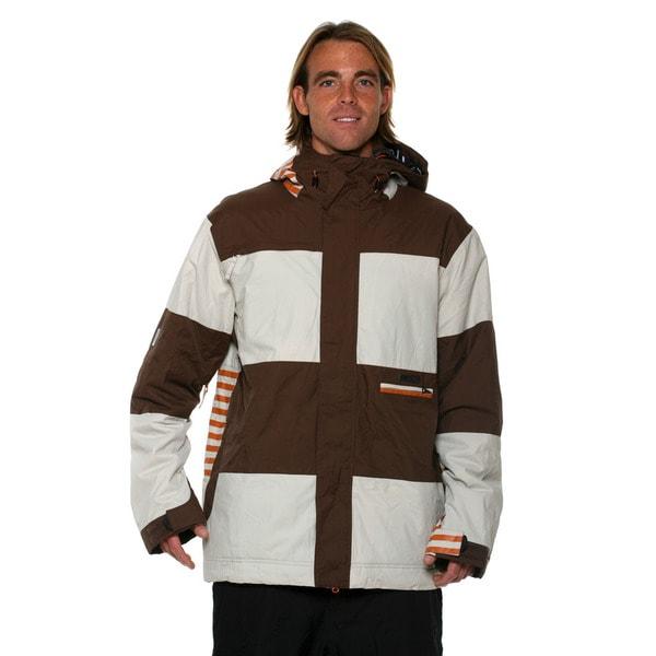 Billabong Men's Brown Altyr 8K snowboard Jacket