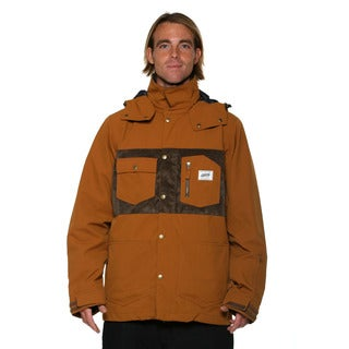 Billabong Men's Camel Tadashi Fuse Chore 10k snowboard Jacket