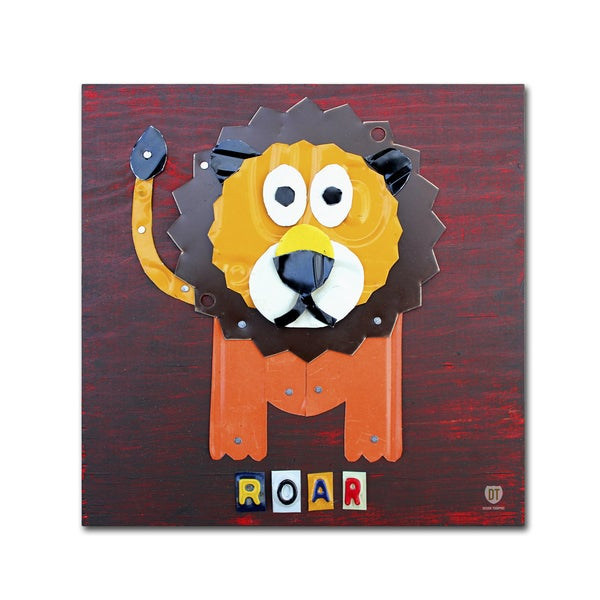 Design Turnpike 'Roar The Lion' Canvas Wall Art