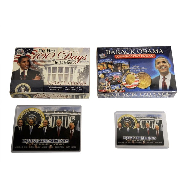 Barack Obama Commemorative Card Sets (Set of 2)