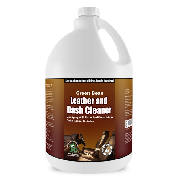 Green Bean 1 Gallon Non-Toxic Leather and Dash Cleaner