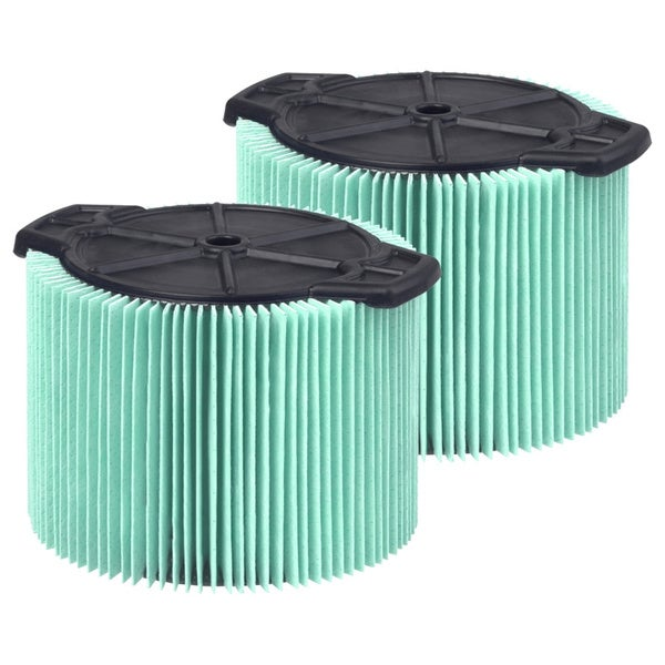 WORKSHOP Wet Dry Vacs WS14045F2 Wet Application Foam Filter for Wet Dry Shop Vacuum, 3 to 4.5-Gallon, 2 Pack