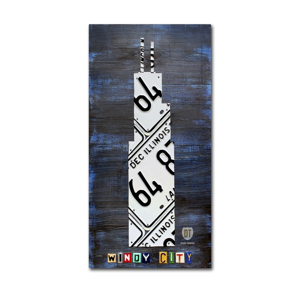 Design Turnpike 'Windy City Building' Canvas Wall Art