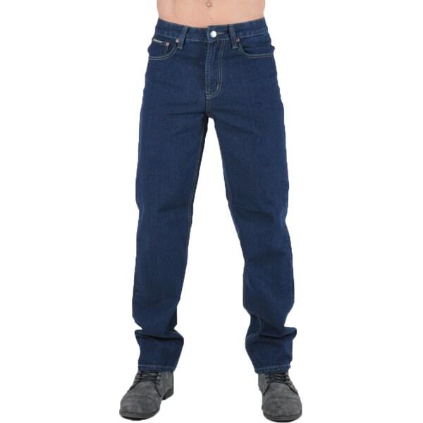 Dinamit Degree Men's Dark Blue Denim Jeans