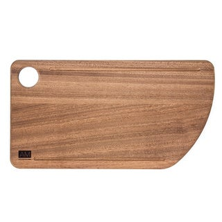 The Acajou by L'Atelier Moderne, Mahogany Wood Cutting Board 11x20