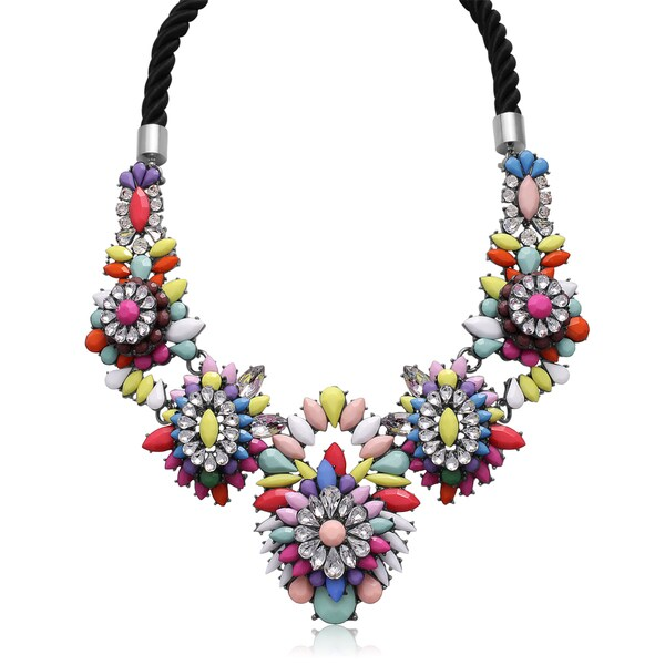 Passiana Neon Statement Necklace