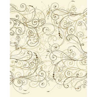 "Artemio Clear Stamps 5.9""X8.7""-Volute"