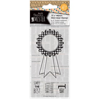Papermania Mr. Mister Mini Clear Stamps 75x140mm-Rosette
