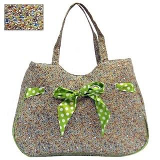 ALFA Ultra Lightweight Floral Design Tote Bag