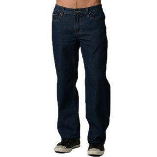 Dinamit Degree Men's Wide Leg Blue Denim Jeans