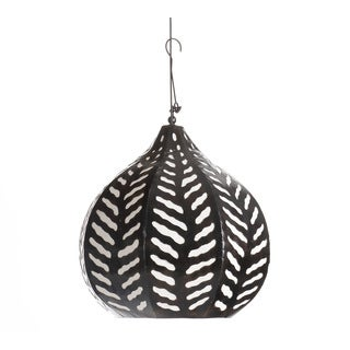 Hanging Oriental Petal Steel Pendant Light (Indonesia)