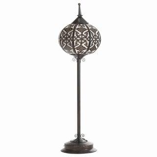 Oriental Steel Floor Lamp (Indonesia)