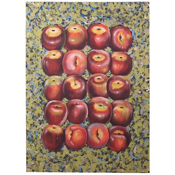 Somette Apple Art Collage